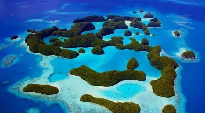 De eilanden van Palau